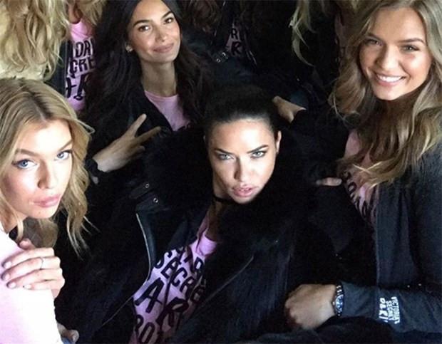 Victoria's Secret melekleri büyük şova böyle hazırlanıyor