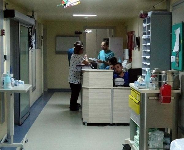 Yeni doğan bebek hastane tuvaletine bırakıldı