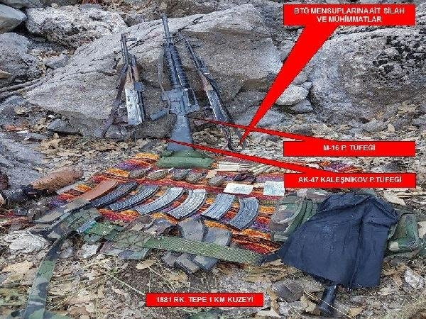 PKK'ya ağır darbe: 10 terörist öldürüldü