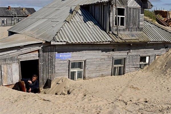Diri diri toprağa gömülen köy