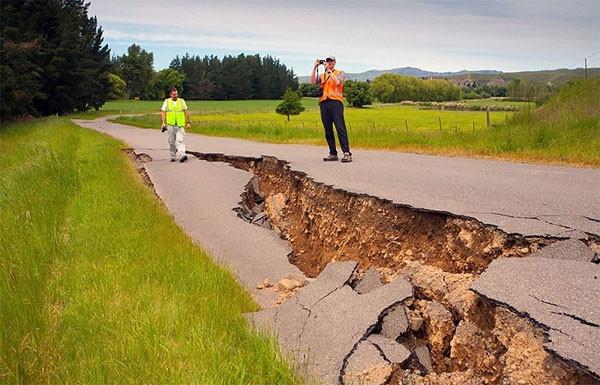 7.8'lik deprem bu hale getirdi !