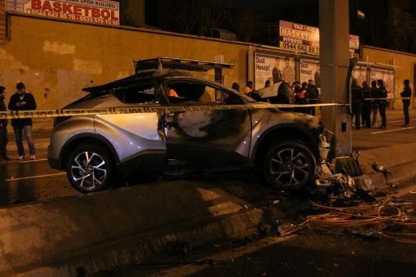 Avcılar'da korkunç kaza: 2 ölü