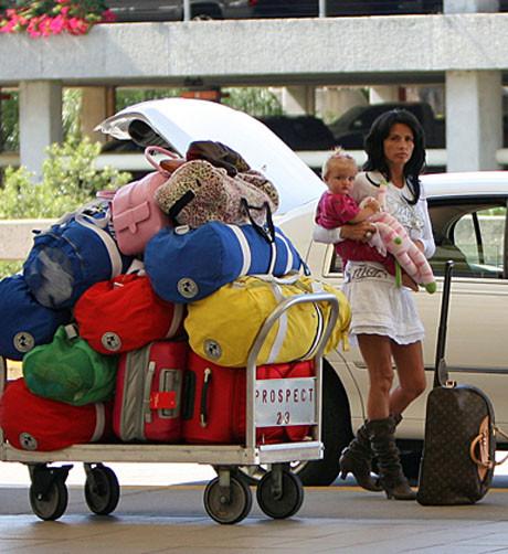 Ünlülerin bavulları