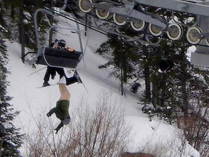 En talihsiz kayak kazası