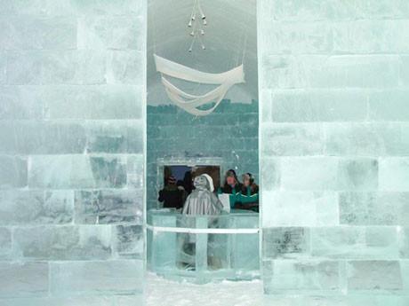 Buz gibi otel !