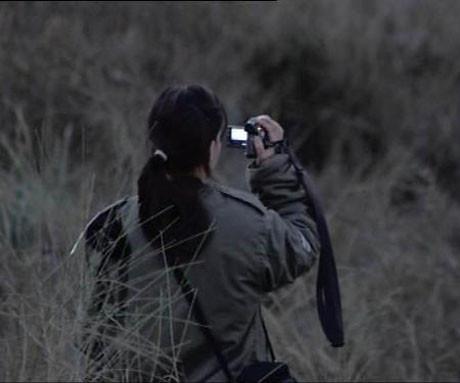 İsrailli askerin hatıra fotoğrafı