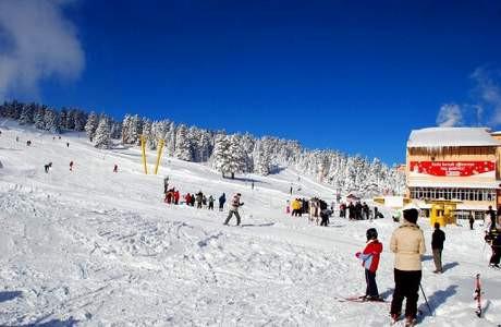 İşte en gözde kayak merkezleri