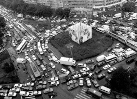 Çıldırtan trafik!