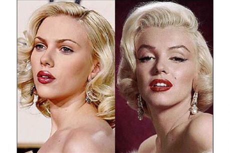 Marilyn Monroe benzerleri