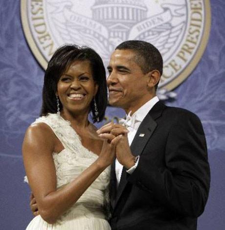 Obama çifti büyüledi