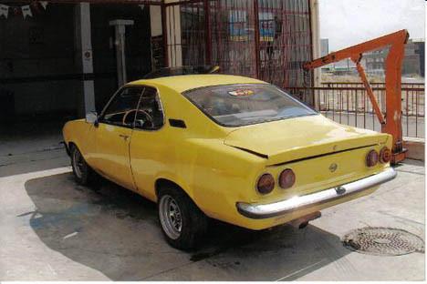 Türk yapımı Corvette