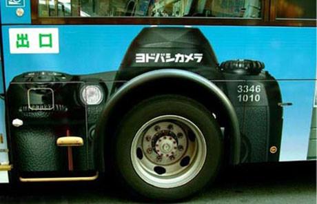 İlginç otobüs reklamları