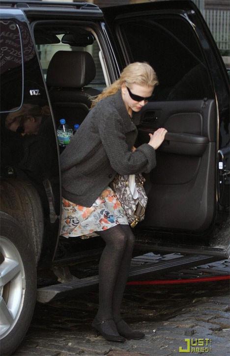 Nicole Kidman rüzgarın azizliğine uğradı
