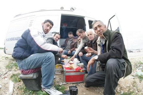 Türk gazeteciler Gazze sınırında !