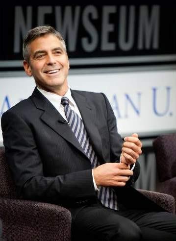 Clooneynin zor anları