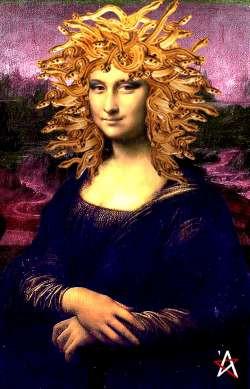 Mona Lisa oyuncak oldu