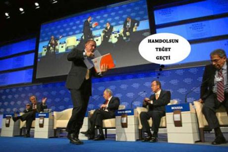 Mizahçılar Davos krizine el attı