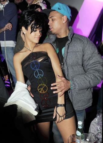 Rihanna dayak yedi !