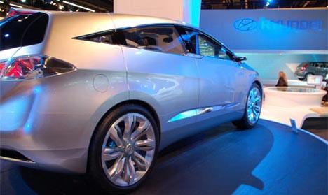 Yakıt dostu Hyundai Blue