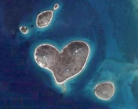 İşte Google Earthdeki Kalpler