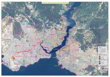 İstanbul trafiği yerin altına iniyor