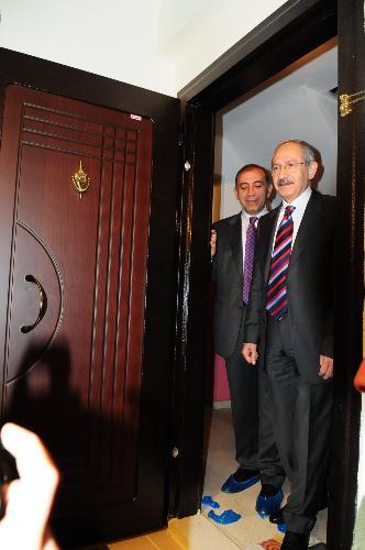 Kılıçdaroğlunun evi..
