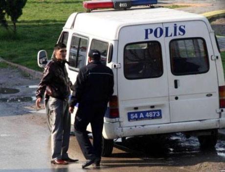 Aşk kavgasını polis ayırdı