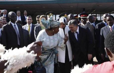 Cumhurbaşkanı Gül, Kenyada