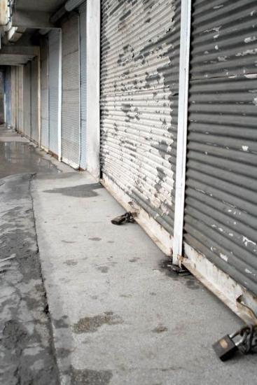 Diyarbakırda esnaf dükkanını açmadı
