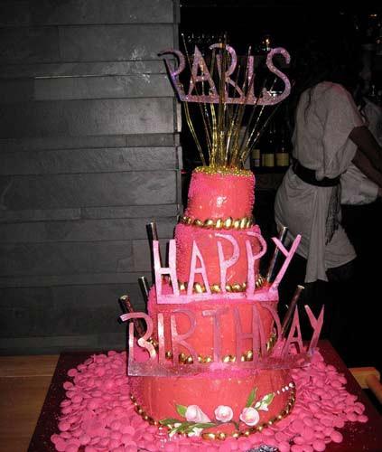 Parisin doğum gününden kareler