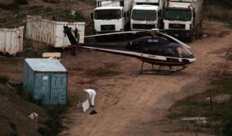 Hapisten helikopterle kaçtılar !