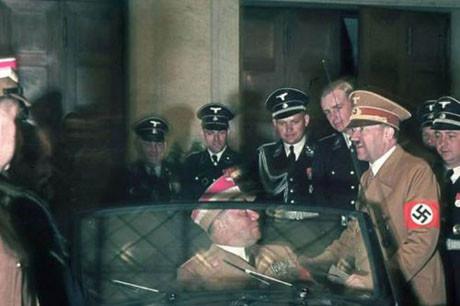 Hitlerin hiç yayınlanmayan fotoğrafları