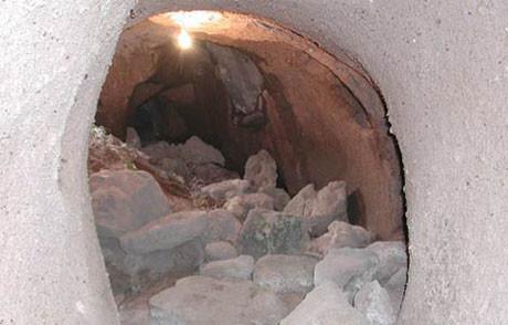 Kapadokyadaki yeraltı şehri !