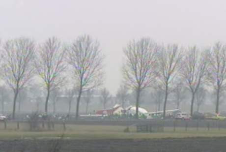 THY Uçağı Amsterdamda düştü !