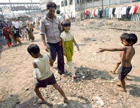 Slumdog Millionairein fakir çocukları