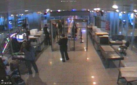 İşte yolcuların son görüntüleri