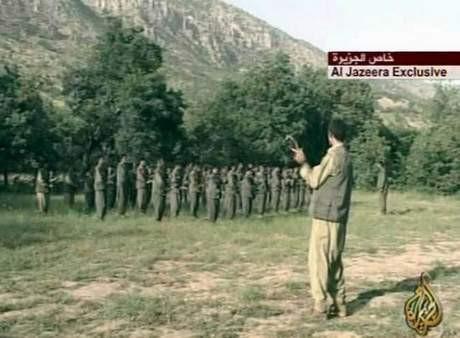 Mehmetçikin bomba yağdırdığı PKK kampı