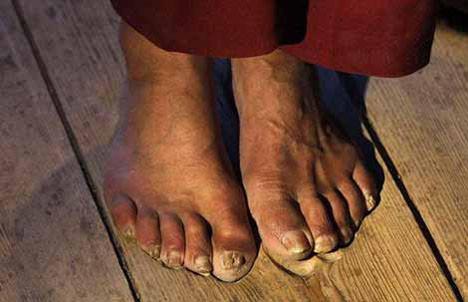 İbadetin ayak izleri