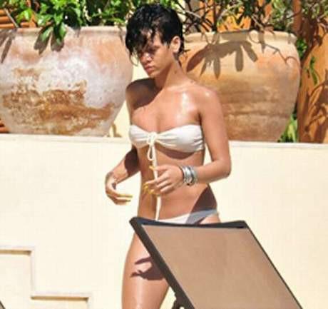 Rihanna tatile çıktı