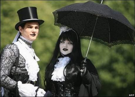 Bunlar da gotik düğünler