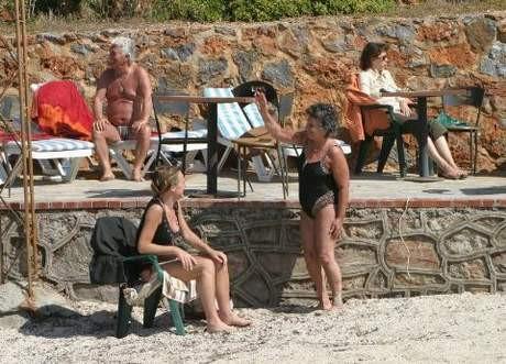 Antalyada deniz keyfi