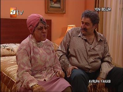 Dilber Hala ve sevgilisi Azim