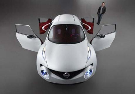 Nissanın yeni elektrikli otomobili