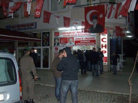 CHPli aday saldırıya uğradı