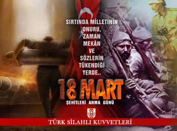 18 Mart afişleri yayınlandı