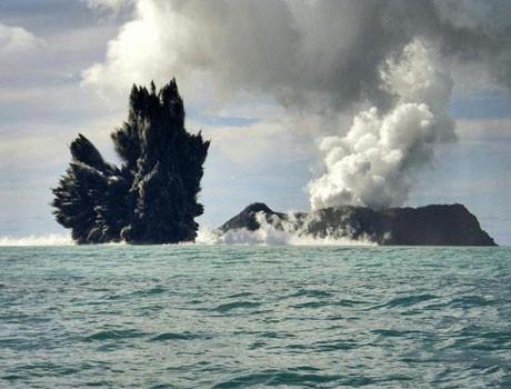 Denizin dibinde büyük patlama !