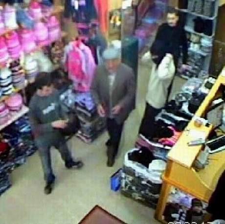 Katiller kameraya yakalandı