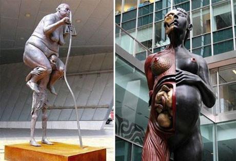 Yaratıcı heykeller