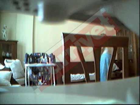 Korkunç dadı gizli kameraya yakalandı