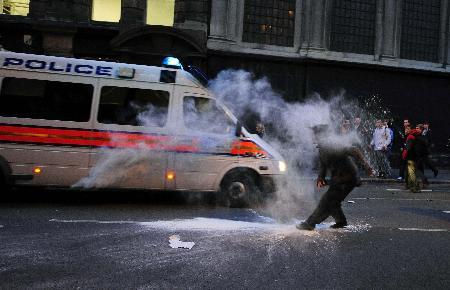 G20yi protesto gösterilerinde 1 ölü